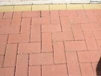 Monoblock paving, 930 Red, 119 Buff