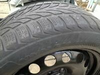 volks rim 4 winter tires 205 55 16