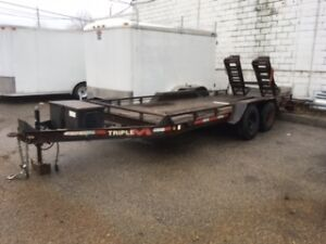Dual Axle Trailer - flatbed