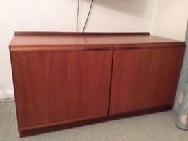 Vintage Mcintosh teak cabinet/tv unit