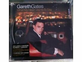 GARETH GATES CD - What My Heart Wants To Say - CD ALBUM