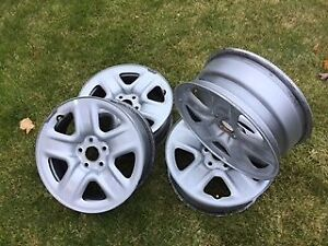 """4-17"""" OEM Toyota Rav4 rims in excellent mint condition"""