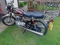 1984 honda 200t benly motorcycle