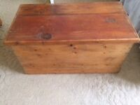 Beautiful Pine Storage Box