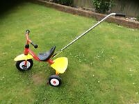 Kettler Supertrike & harness - hardly used and in good condition