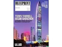 Blueprint magazines - Architect