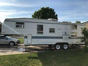 1999 25ft mallard 5th wheel trailer