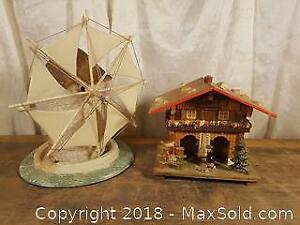 Musical Windmill and Barometer House