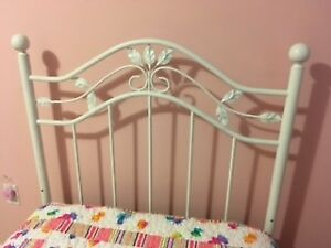 Twin Size Metal Bed Frame with Box Spring