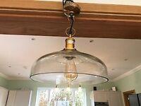 John Lewis Croft collection pendant lights x 3