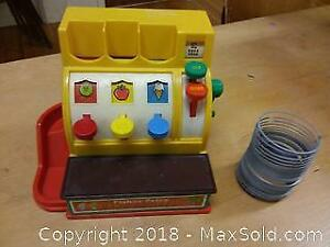 Fisher Price cash register and slinky