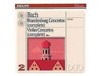 Bach- Brandenburg Concertos & Violin Concertos- Complete- *CD, Philips* (ORIGINAL)