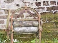 old cast iron mangle for sale