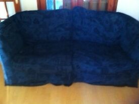 2 seater sofa bed £ must collect free