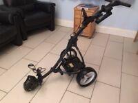 Motocaddy S3 electric golf trolley