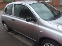 Automatic Nissan micra S good runner use daily mot to July 22,2017