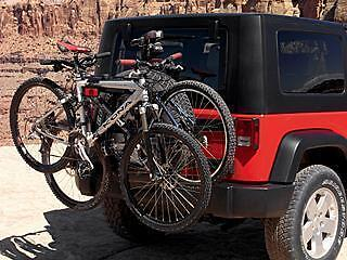 Jeep Spare Tire Rack - NEW! Thule Spare Tire Bike Rack 963 XTR Jeep Wrangler / Liberty MOPAR TSPRO963