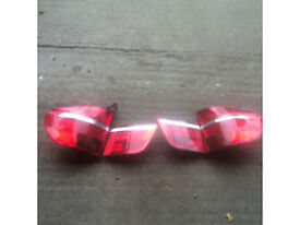 bmw e70 x5 rear lights full set for sale or fitted call parts thanks
