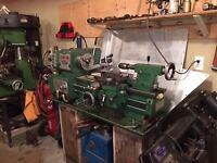 Lathe work Milling and Press work