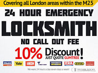 EMERGENCY LOCKSMITH NO CALL OUT FEE