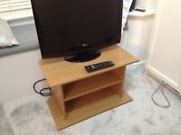 small tv unit stand 60cm wide 35cm deep.