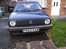 VW mk 2 golf model gl