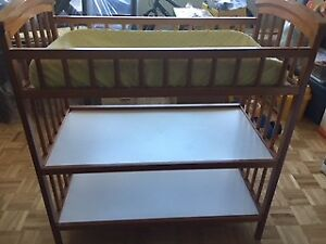 Baby Change table and Diaper Genie