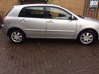 TOYOTA COROLLA COLOUR COLLECTION 1.4 Petrol Manual Car for sale