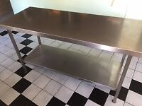 Stain less steel tables