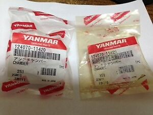 Yanmar Front Combustion Chambers