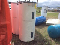 Hot Water Heaters and Tanks Used