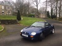 1999 Mgf Midnight Blue, LOW MILES, Great Condition