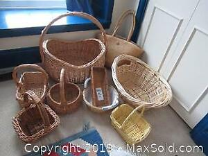 More Baskets, and a Bag. B