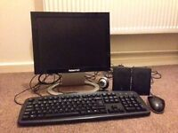 """Parkard Bell 15"""" LCD computer screen with accessories"""
