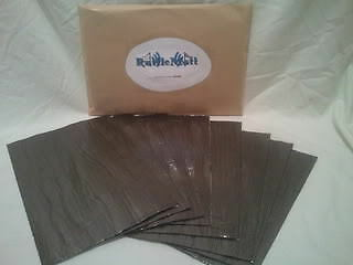RATTLEMATT x 20 SHEETS!! Car Sound Deadening Audio Proofing Sheets Pads Panels