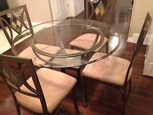 Glass Dining Set / Free Delivery