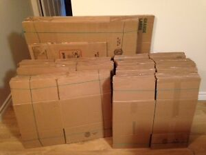 Moving boxes for sale Stratford Kitchener Area image 1