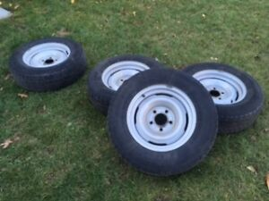 WINTER TIRES ON RIMS 215/70R15 Kitchener / Waterloo Kitchener Area image 4