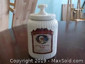 Santa's Cookie Jar - A