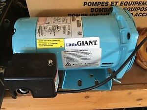 1/2 hp 3450 rpm Little Giant  Electric Pump Motor