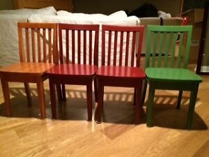 Pottery Barn Carolina Wooden Play Chairs $40 each
