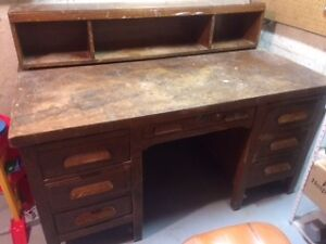 Antique Hobby/Workshop Desk