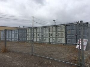 20x8 storage containers for rent, $99/mo or $1000/yr