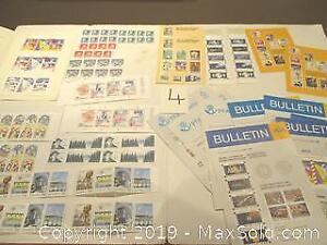 1980's Sweden Stamps Collection.