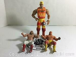 WWF Hulk Hogan Action Figure Lot