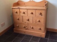 Little Wooden Sideboard/Chest