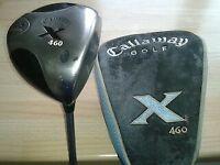 Golf clubs men's x2, 1 Callaway the other, TaylorMade.