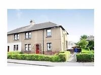 2 bed fully furnished flat 54 randyford street falkirk front / back door inc garden no dss £420pcm