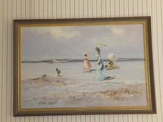 Three decorative framed oil paintings Mosman Mosman Area Preview