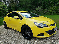 2012 Vauxhall Astra GTC 1.4i 16v Turbo ( 140ps ) SRi Half Leather+DAB+Bluetooth